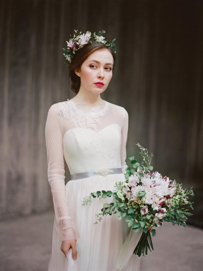 winter long sleeved dress