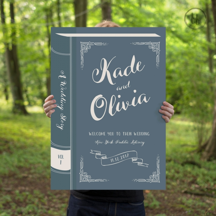 book sign etsy