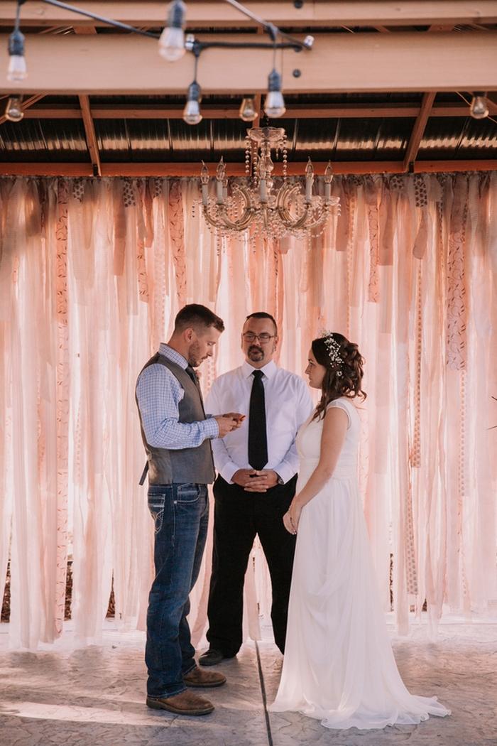 Intimate Backyard Wedding in Roseville