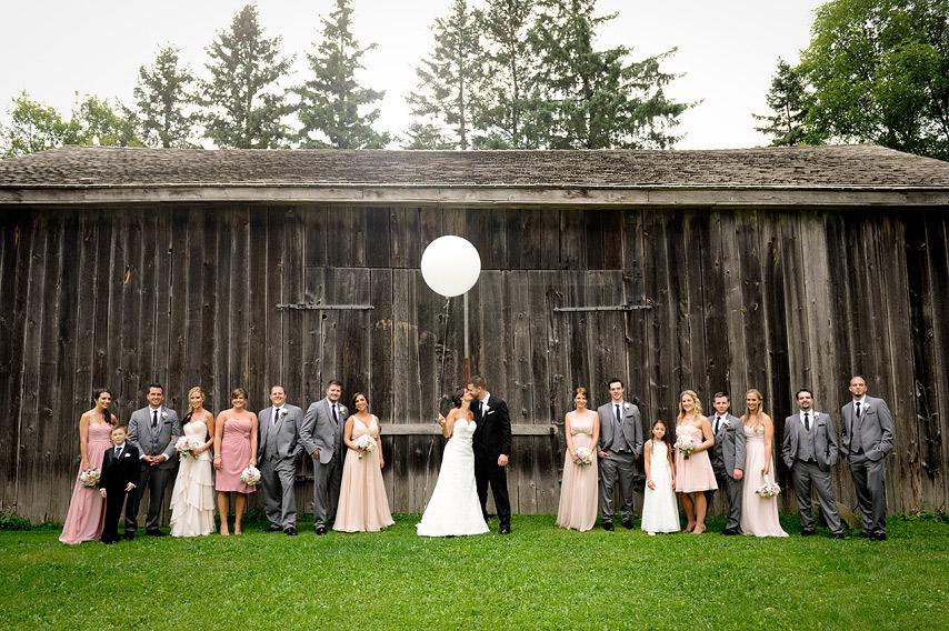Winery stouffville wedding