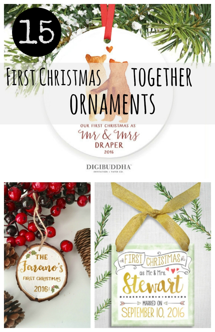 15 First Christmas Together Ornaments: 2016 Etsy Gift Guide ...