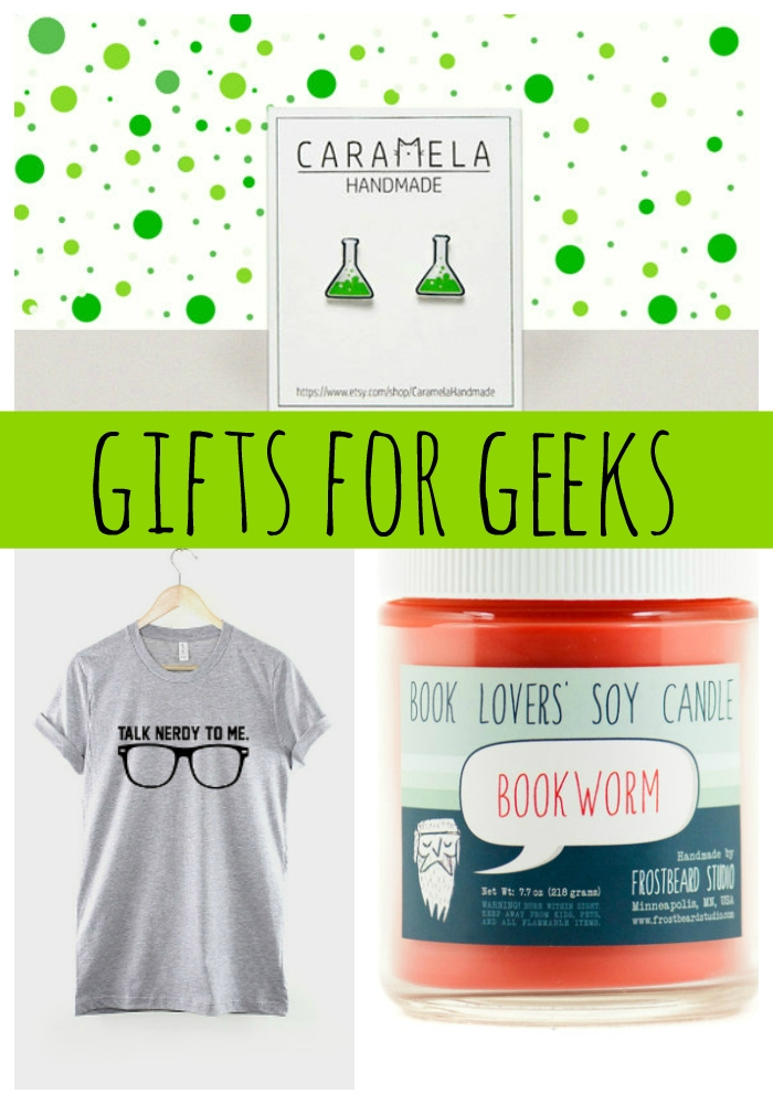 15 Perfect Gifts For Geeks 2016 Etsy Gift Guide
