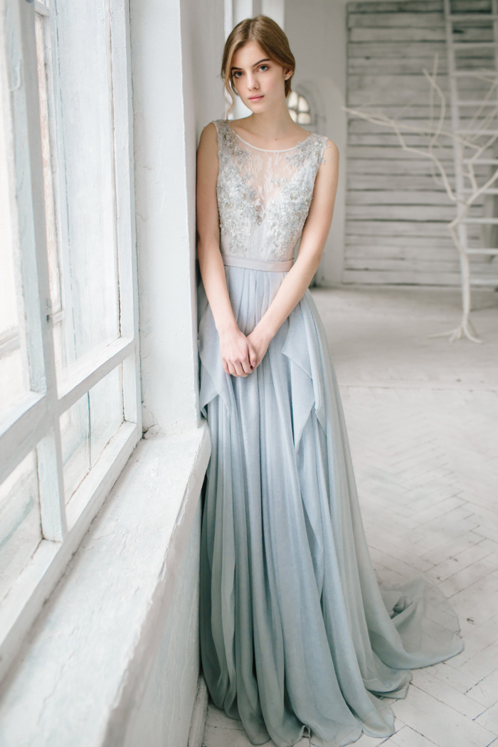 10 Beautiful Beaded Wedding Gowns | Intimate Weddings - Small ...
