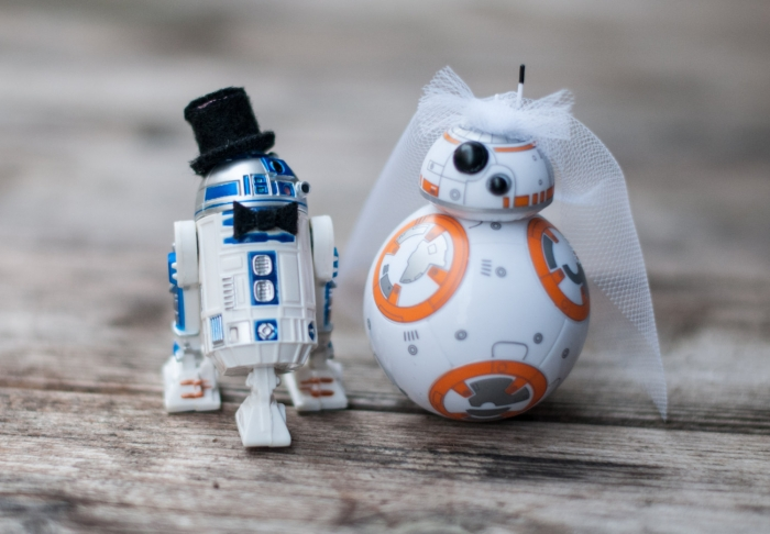 Nerdy Cake Topper Wedding