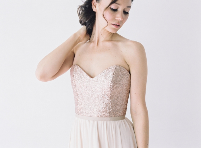 Rose Gold Wedding Dress 53 New This rose gold dress
