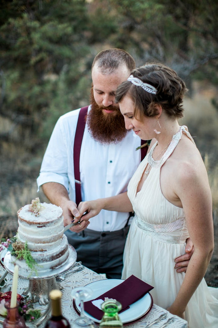 Smith Rock Elopement Styled Shoot Intimate Weddings Small Wedding Blog Diy