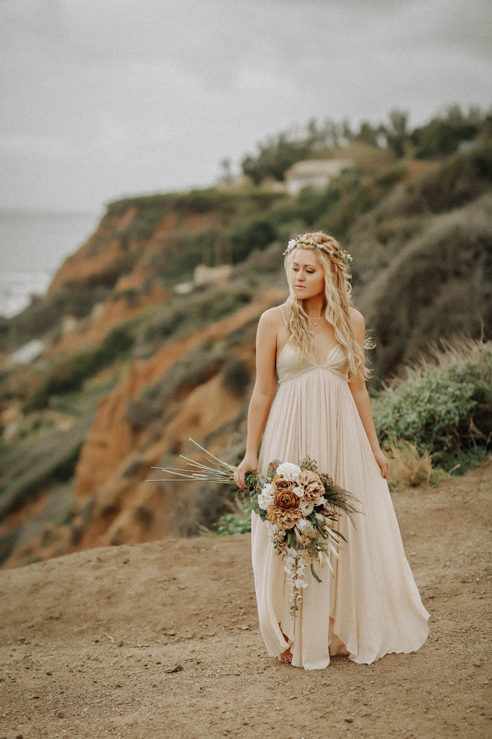 el matador beach elopement
