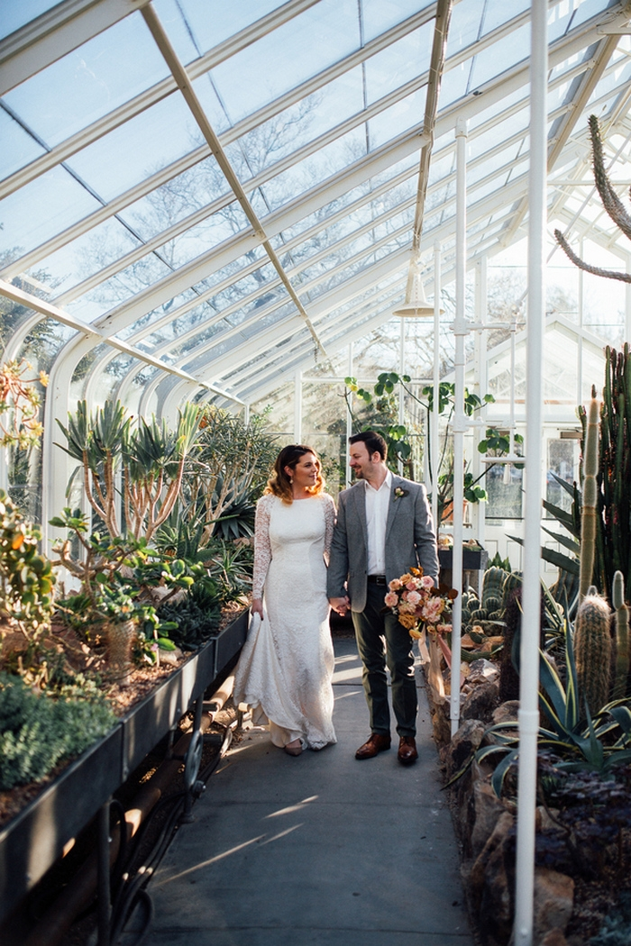 One Year Anniversary Shoot At Iconic Seattle Conservatory