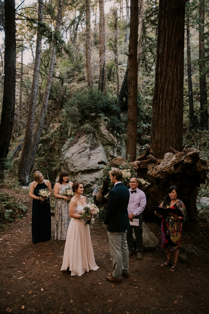 Jessica and Paul\'s Big Sur Wedding | Intimate Weddings - Small ...