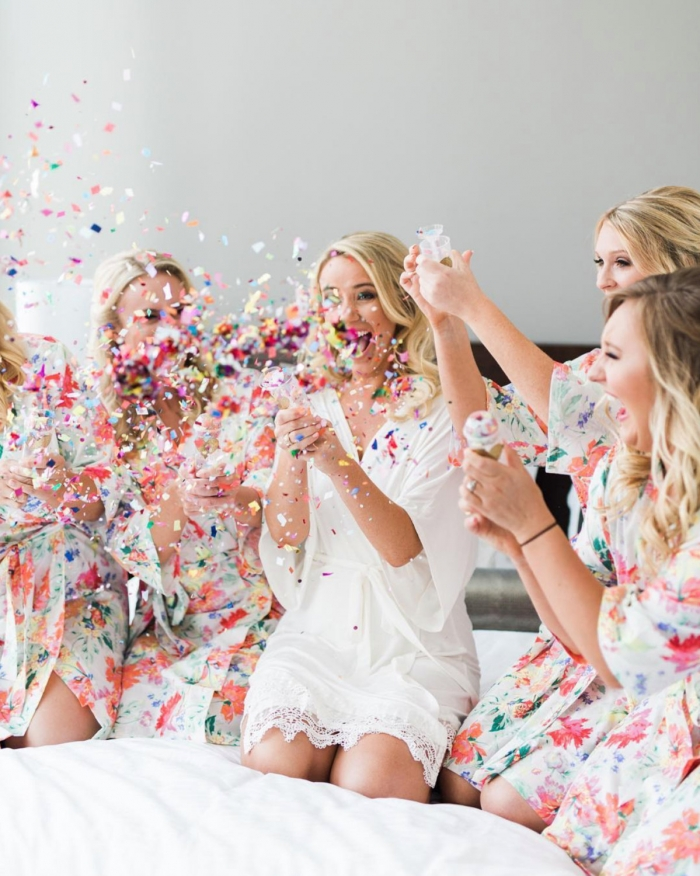 getting ready  12 ways to pamper your bridesmaids