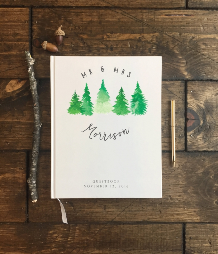 http://www.intimateweddings.com/wp-content/uploads/2017/03/rustic-winter-forest-wedding-guestbook-etsy-700x815.jpeg