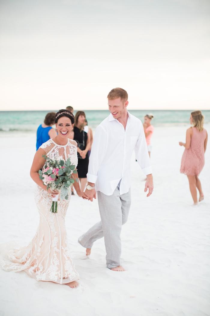 Stevie And Mat S Florida Beach Wedding Intimate Weddings