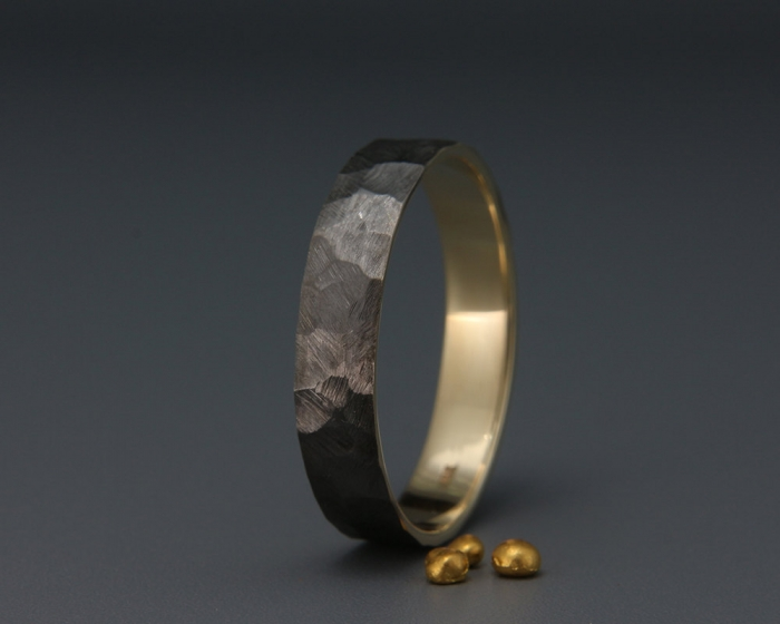 Couples Matching Wedding Bands 88 Fancy Sleek and stylish this