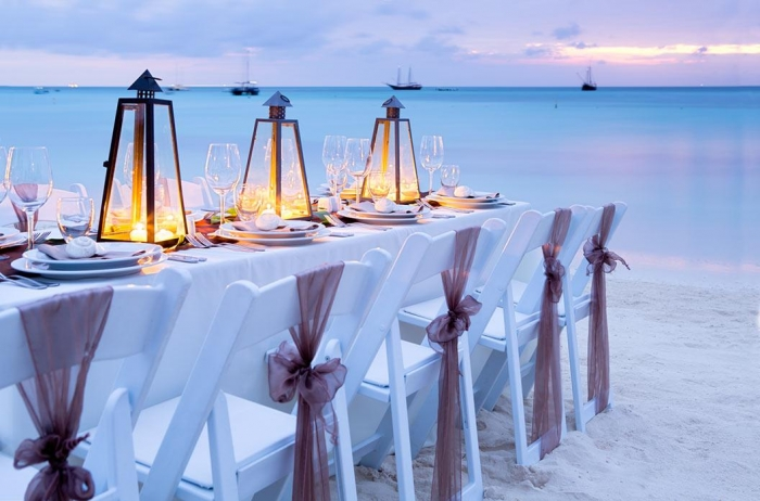beach wedding aruba
