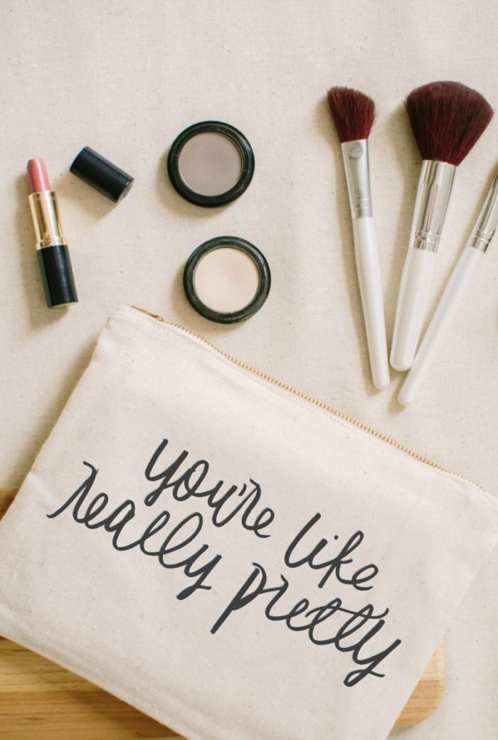 Bridesmaids Makeup Bags - Mugeek Vidalondon