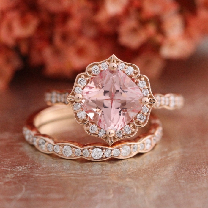 Diamond And Pink Sapphire Wedding Band 65 Popular Lastly if you prefer