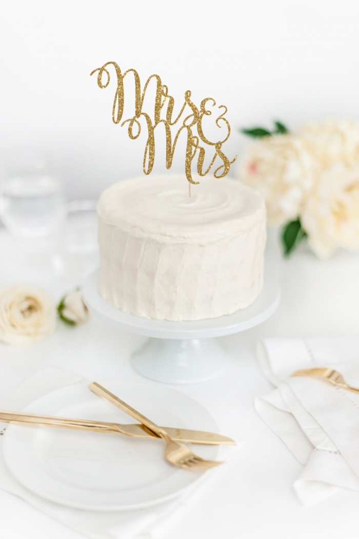Wedding Cake Topper 80 Vintage undefined