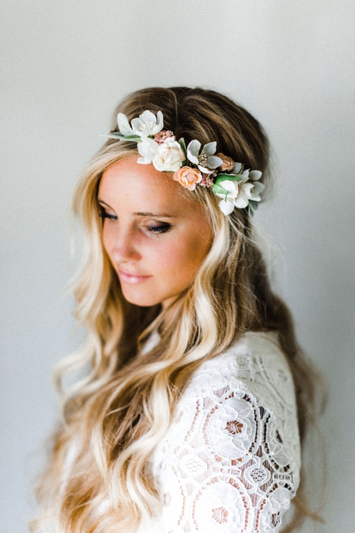 flower crown wedding hair 12 gorgeous handmade hair accessories us230 4156