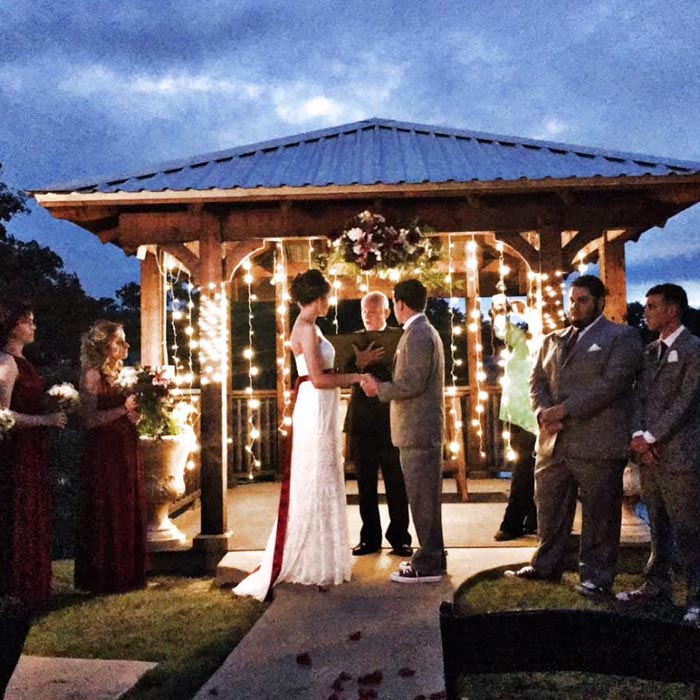 Denton country club wedding