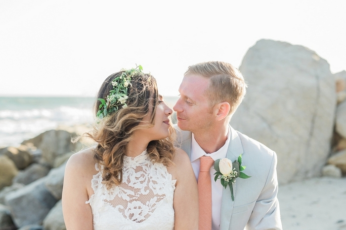 intimate malibu estate wedding