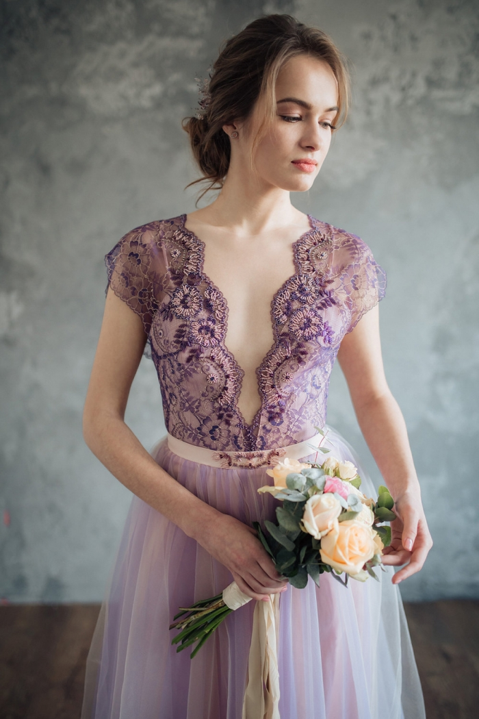 Show-Stopping Non-Traditional Wedding Dresses | Intimate Weddings ...