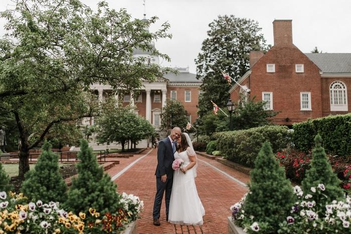 Dana And Gunnar S Annapolis Courthouse Wedding Ceremony
