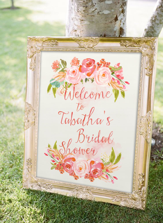 3b55050bf7e Gorgeous Gold and Blush for your Bridal Shower Brunch