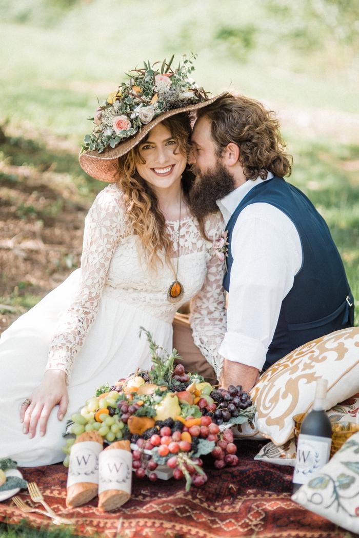 Renoir Inspired Picnic Styled Shoot Intimate Weddings