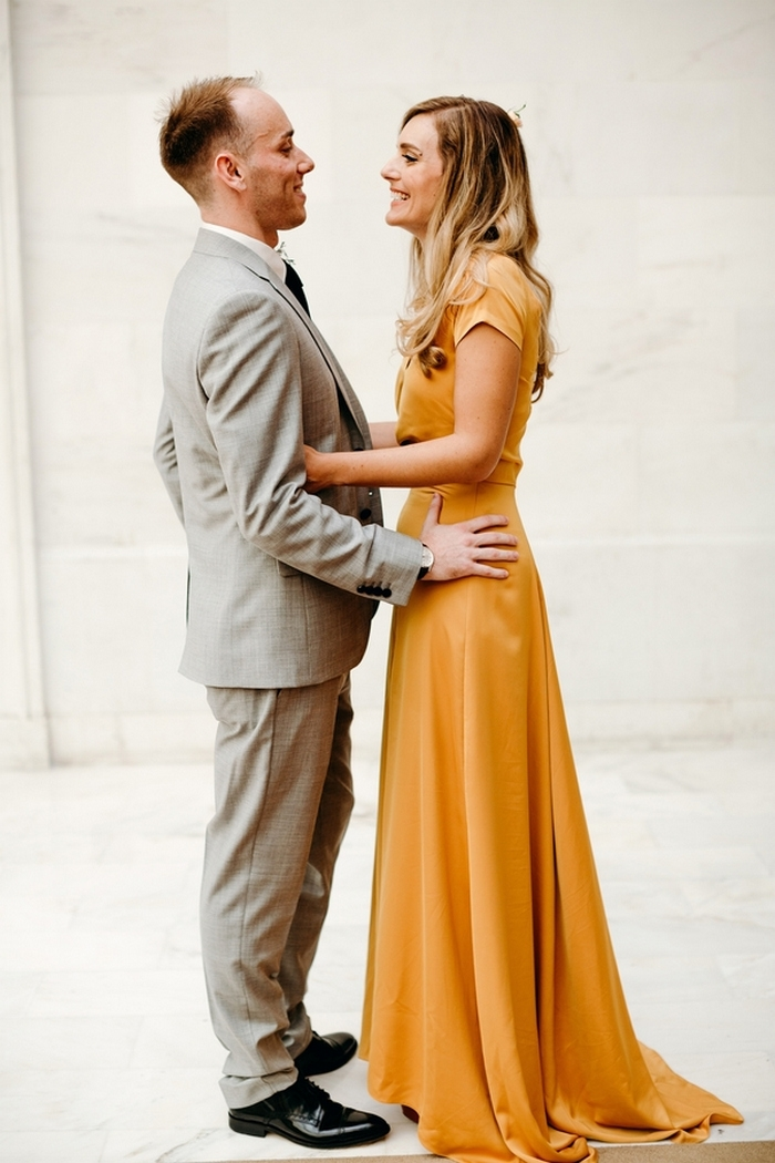 Jessica And Karl S San Francisco City Hall Wedding Intimate