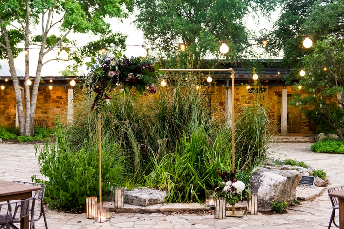 Botanical garden austin wedding