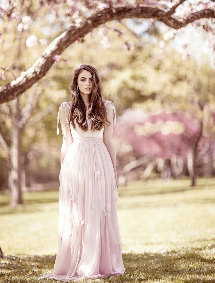 The Two Toned Pastel Dress By MywonyBridal Is Almost Too Good To Be True