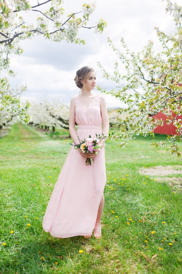 Wedding Dresses In Pink