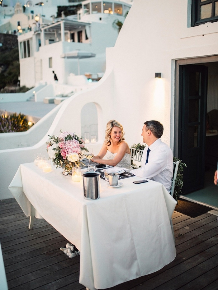 santorini elopement greece
