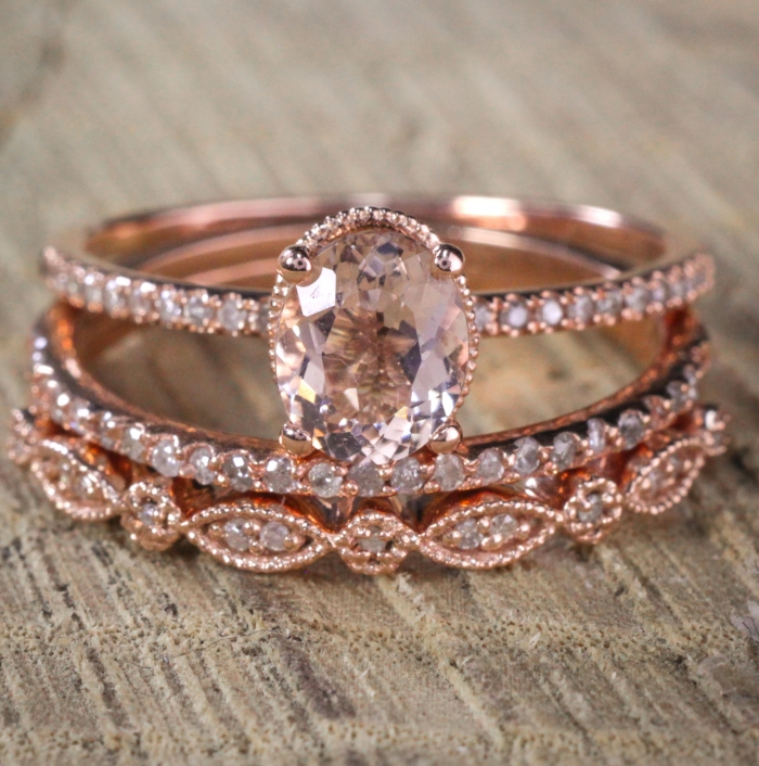 10 Jaw-Dropping Oval Wedding Rings | Intimate Weddings - Small ...