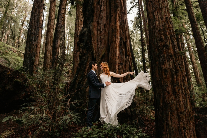 are you pining for a forest wedding you will love these 10 weddings