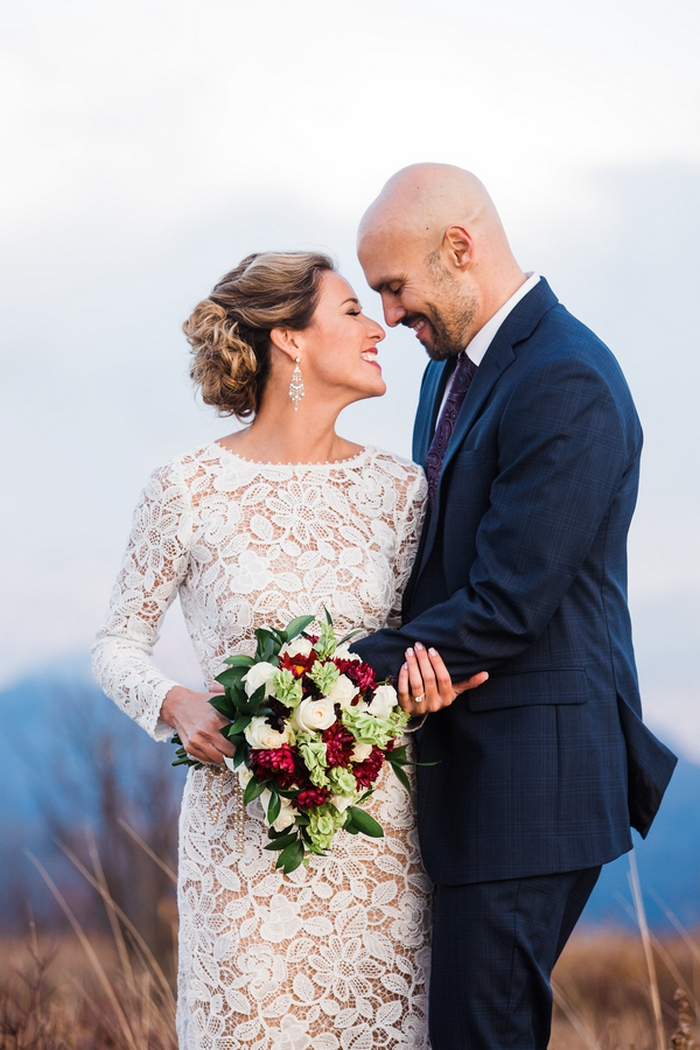 Katherine And Michael's Black Balsam Mountain Elopement