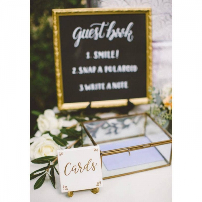 8 elegant wedding card holders intimate weddings small wedding