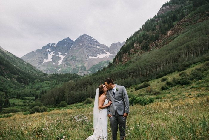 Heather And Darren S Colorado Wilderness Wedding Intimate