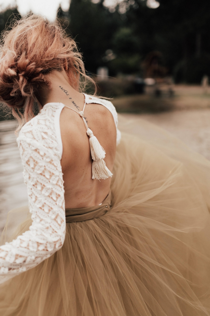 Absolutely Gorgeous Backless Wedding Dresses From Etsy Intimate