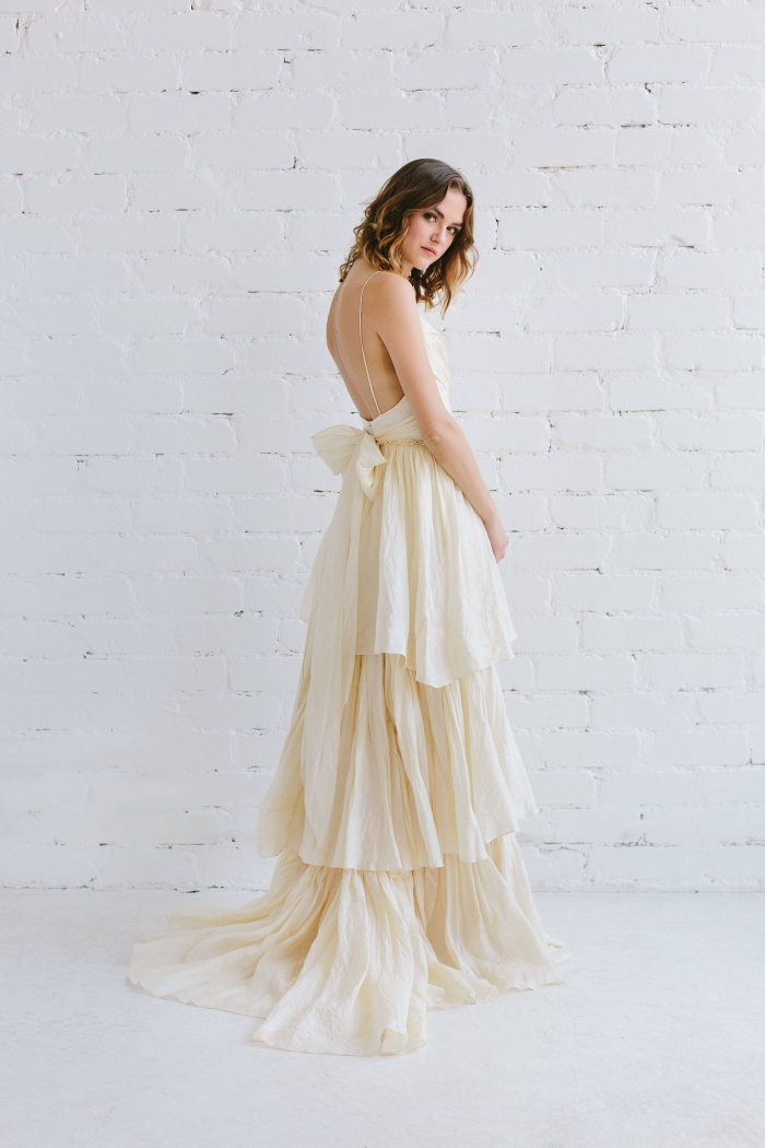 Bow-dacious Wedding Dresses from Etsy | Intimate Weddings - Small ...