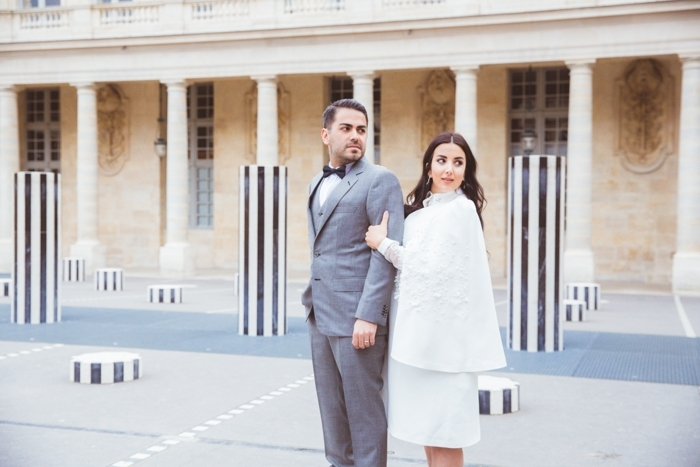 intimate paris wedding
