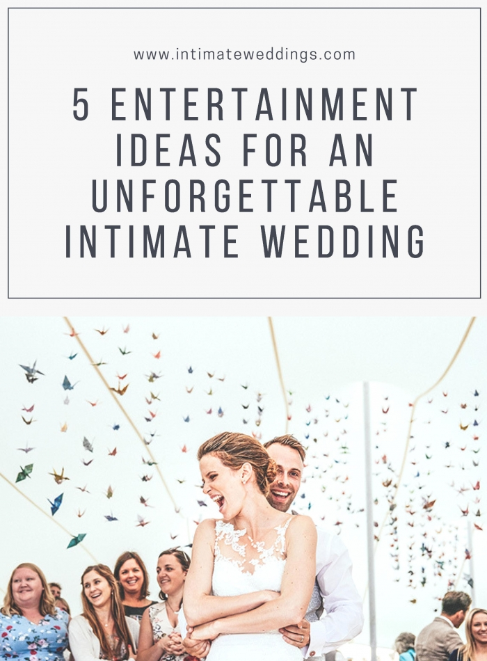 entertainment ideas wedding