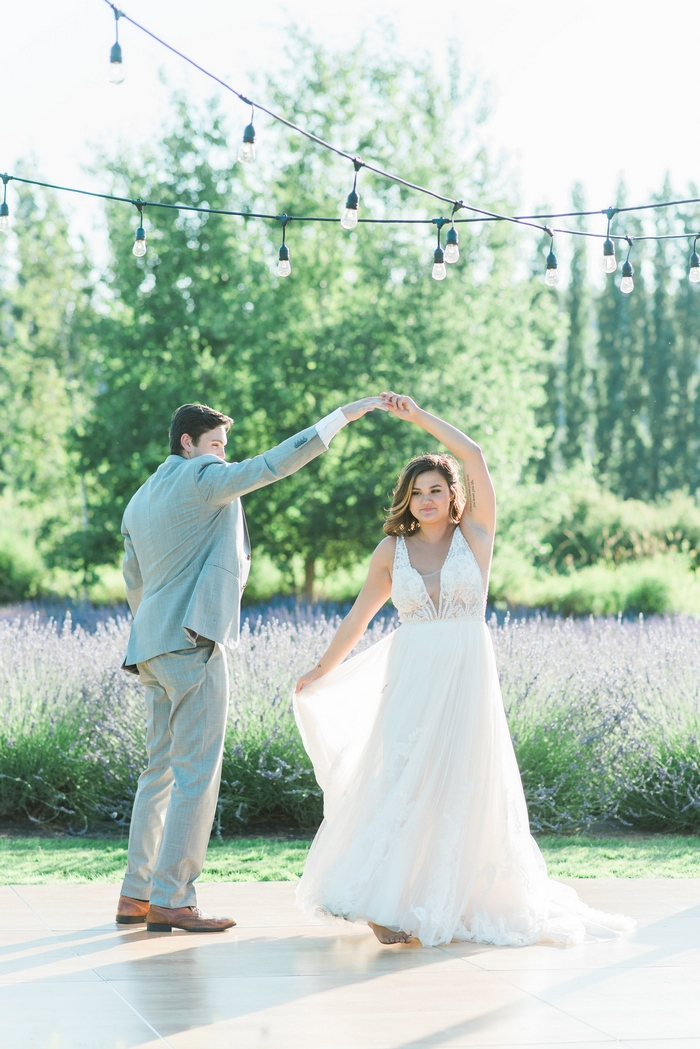 lavender styled shoot