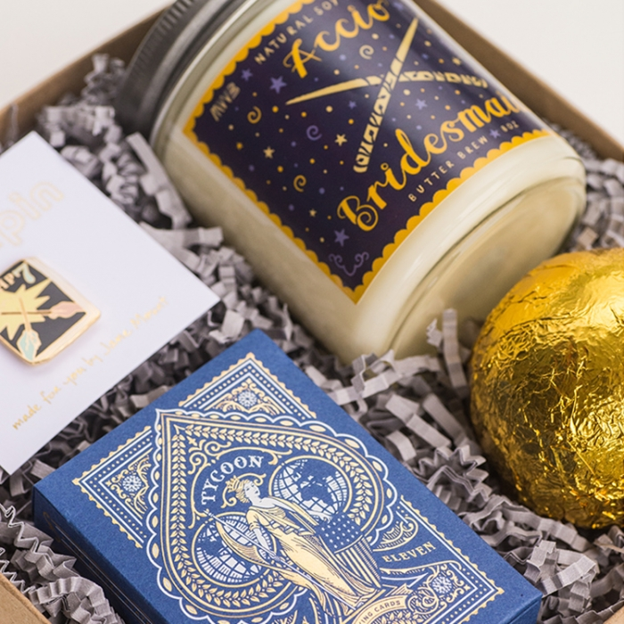 Harry Potter Gift Boxes For Your Bridesmaids Intimate Weddings