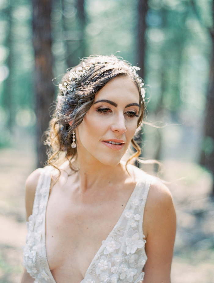 1f595c678f Colorado Forest Picnic Elopement Styled Shoot