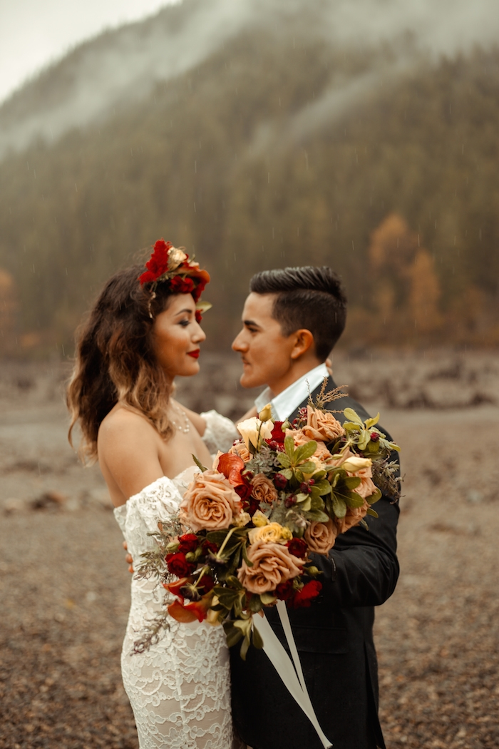 seattle styled shoot elopement