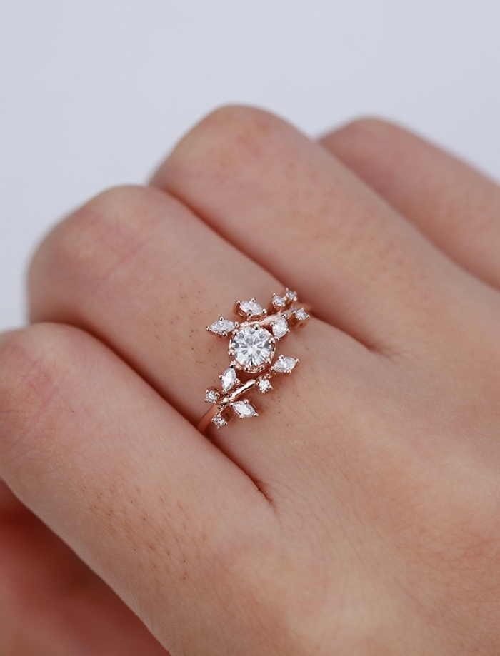 8 Stunning Engagement Rings From Etsy That Cost Less Than