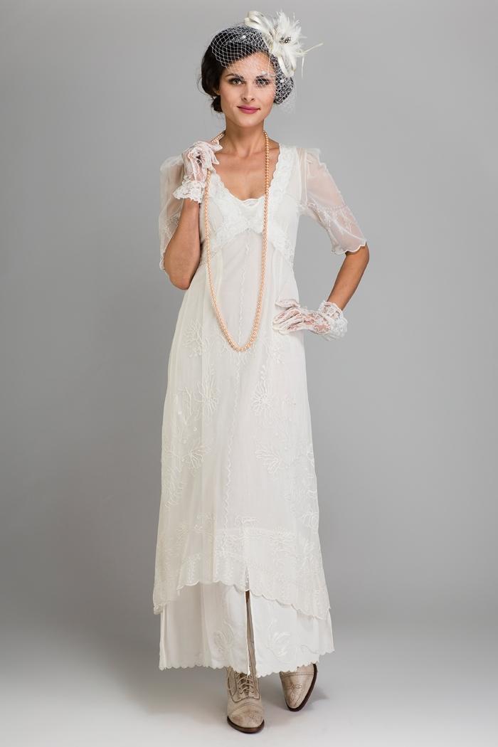vintage dress from wardrobe shop