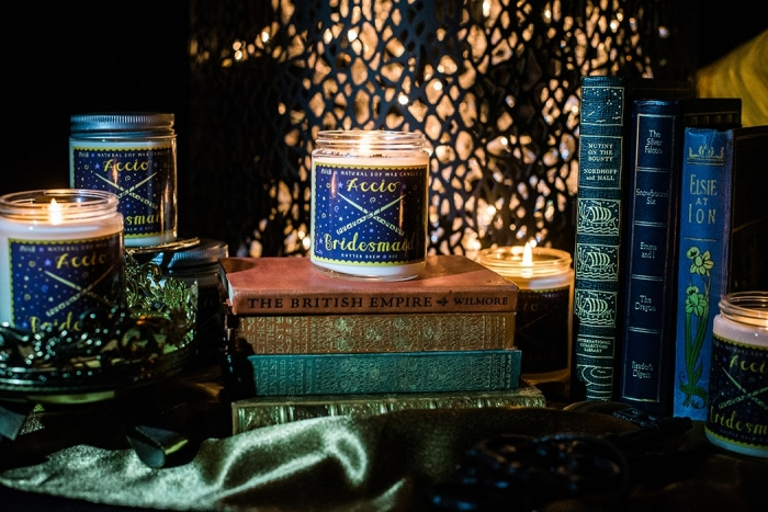 harry potter wedding luxury bridesmaid gift budget bridesmaid proposal gifts natural candle