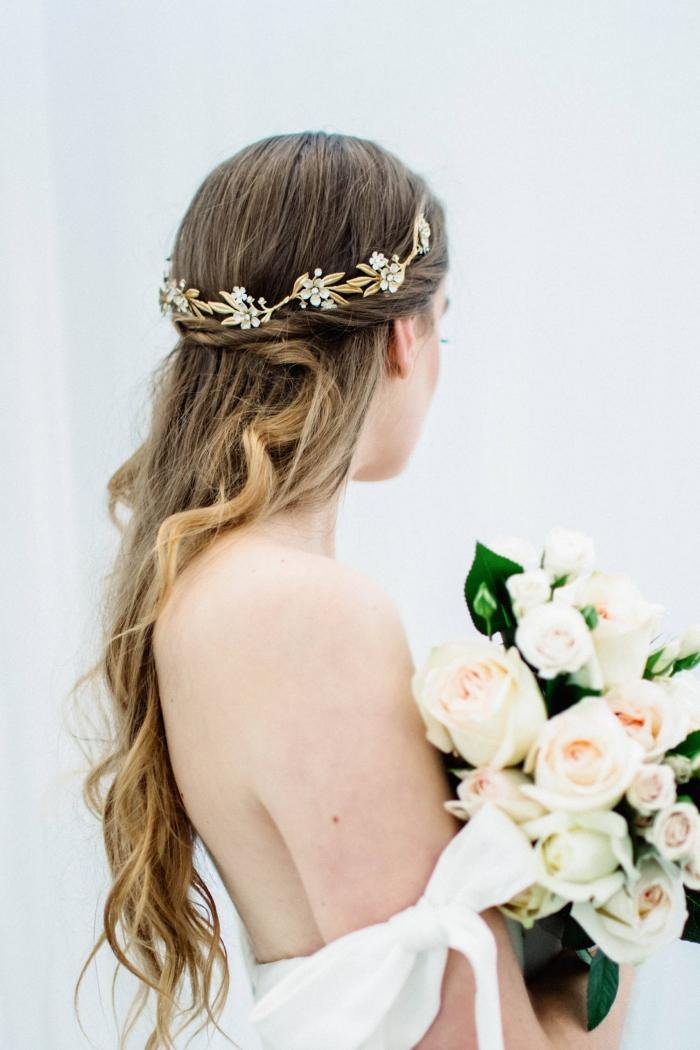 boho bridal headband